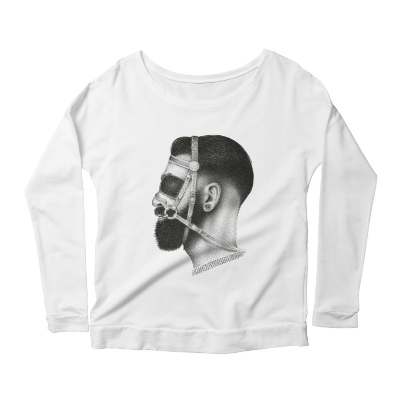 Contemporary Man by Igor Pose Women's Longsleeve Scoopneck  by IgorPose's Artist Shop