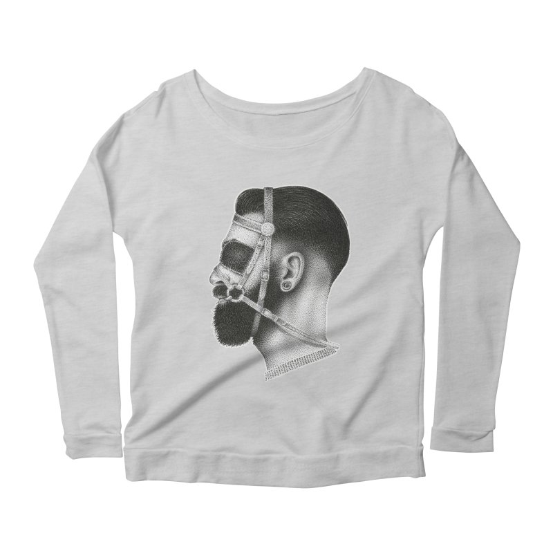 Contemporary Man by Igor Pose Women's Scoop Neck Longsleeve T-Shirt by IgorPose's Artist Shop