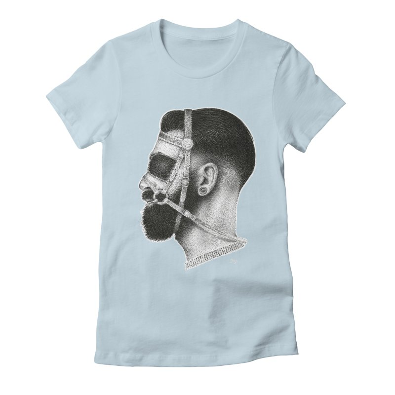 Contemporary Man by Igor Pose Women's Fitted T-Shirt by IgorPose's Artist Shop