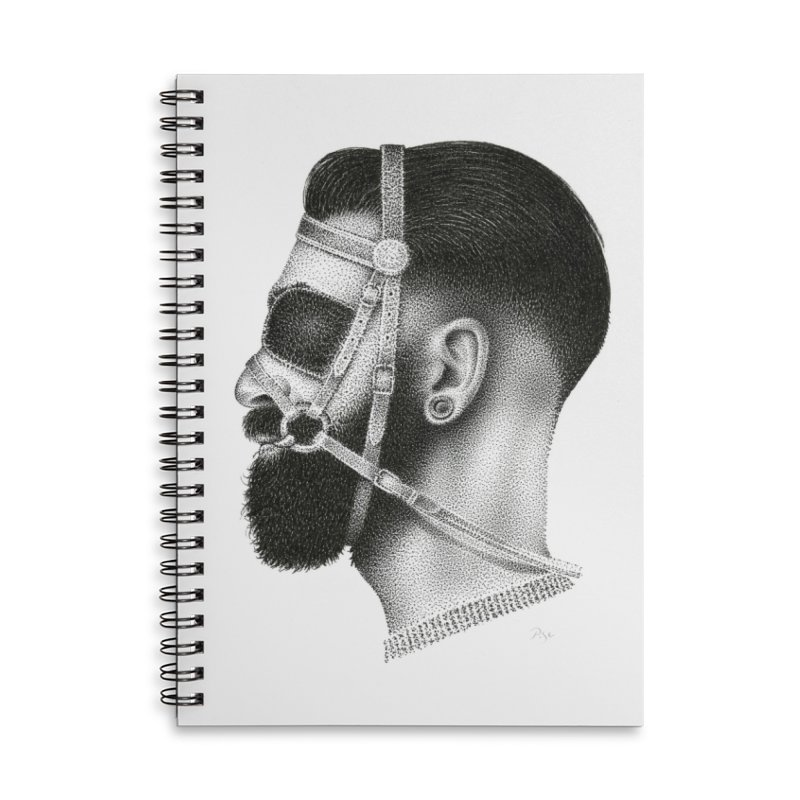 Contemporary Man by Igor Pose Accessories Lined Spiral Notebook by IgorPose's Artist Shop