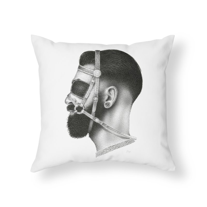 Contemporary Man by Igor Pose Home Throw Pillow by IgorPose's Artist Shop
