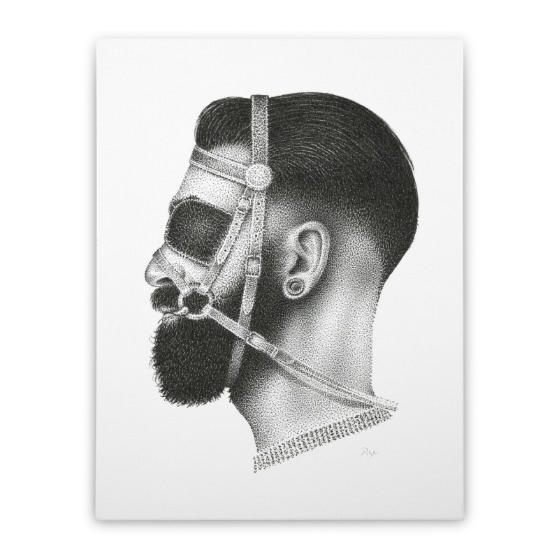 Contemporary Man by Igor Pose Home Stretched Canvas by IgorPose's Artist Shop