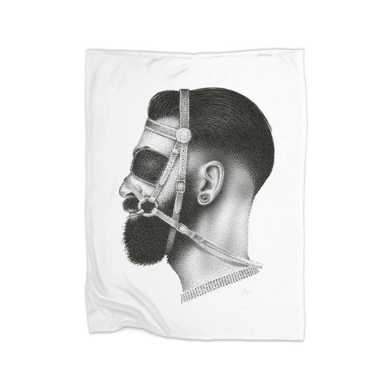 Contemporary Man by Igor Pose Home Fleece Blanket Blanket by IgorPose's Artist Shop