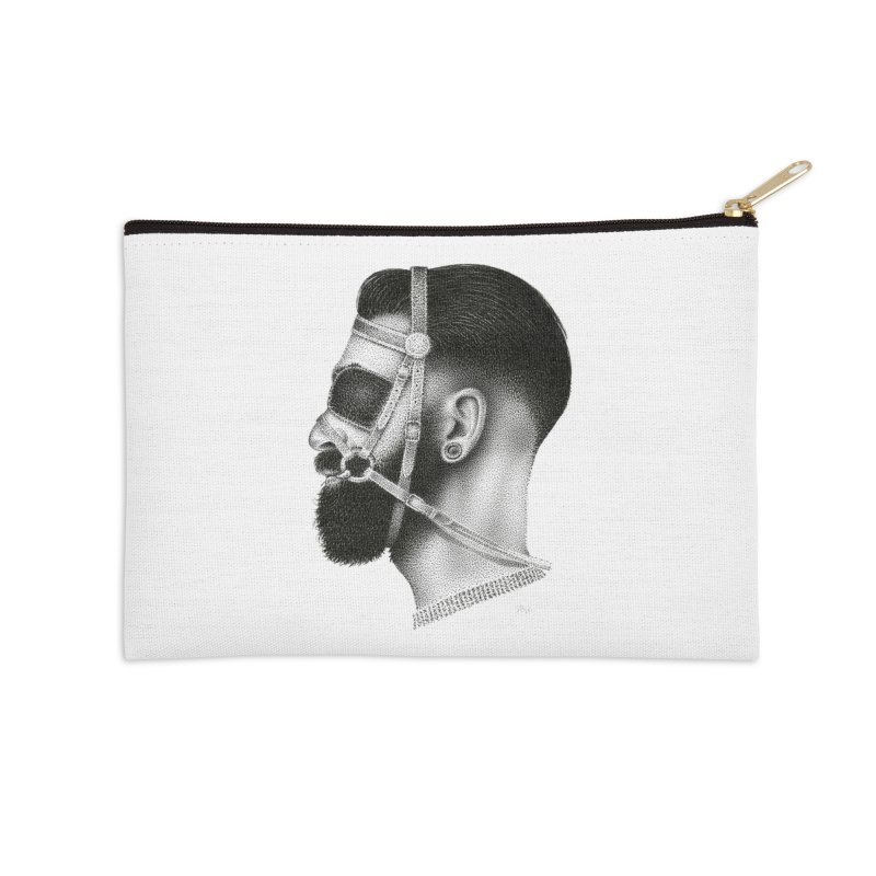 Contemporary Man by Igor Pose Accessories Zip Pouch by IgorPose's Artist Shop