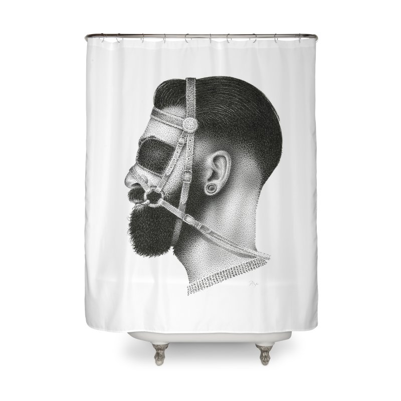 Contemporary Man by Igor Pose Home Shower Curtain by IgorPose's Artist Shop