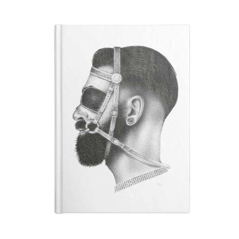 Contemporary Man by Igor Pose Accessories Lined Journal Notebook by IgorPose's Artist Shop