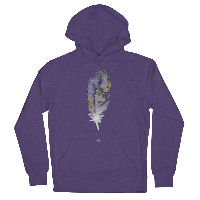 Little Feather by Igor Pose Women's French Terry Pullover Hoody by IgorPose's Artist Shop