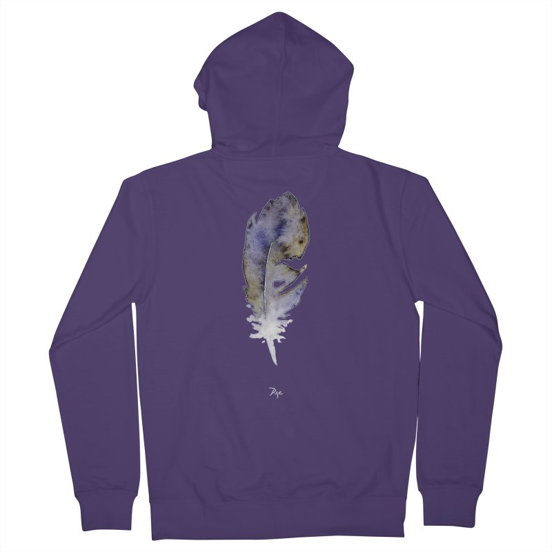 Little Feather by Igor Pose Women's Zip-Up Hoody by IgorPose's Artist Shop