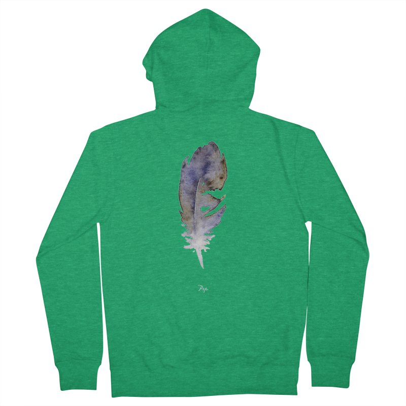 Little Feather by Igor Pose Men's Zip-Up Hoody by IgorPose's Artist Shop