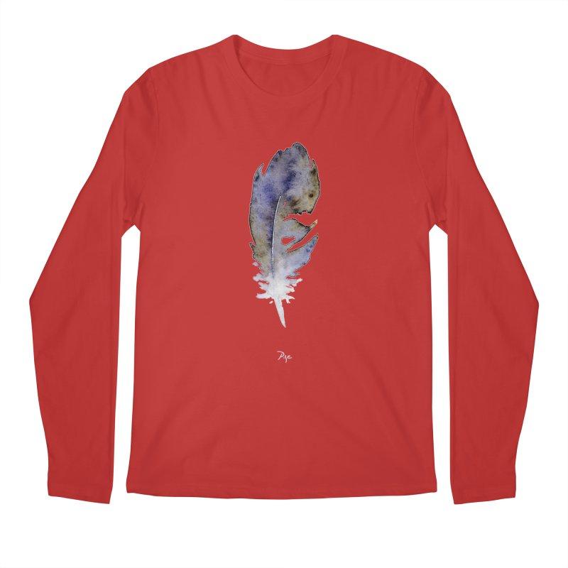 Little Feather by Igor Pose Men's Regular Longsleeve T-Shirt by IgorPose's Artist Shop