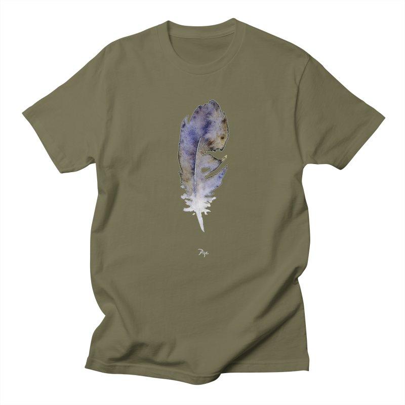 Little Feather by Igor Pose Men's Regular T-Shirt by IgorPose's Artist Shop