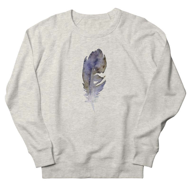 Little Feather by Igor Pose Women's French Terry Sweatshirt by IgorPose's Artist Shop