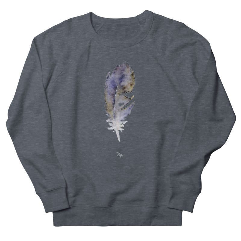 Little Feather by Igor Pose Men's French Terry Sweatshirt by IgorPose's Artist Shop