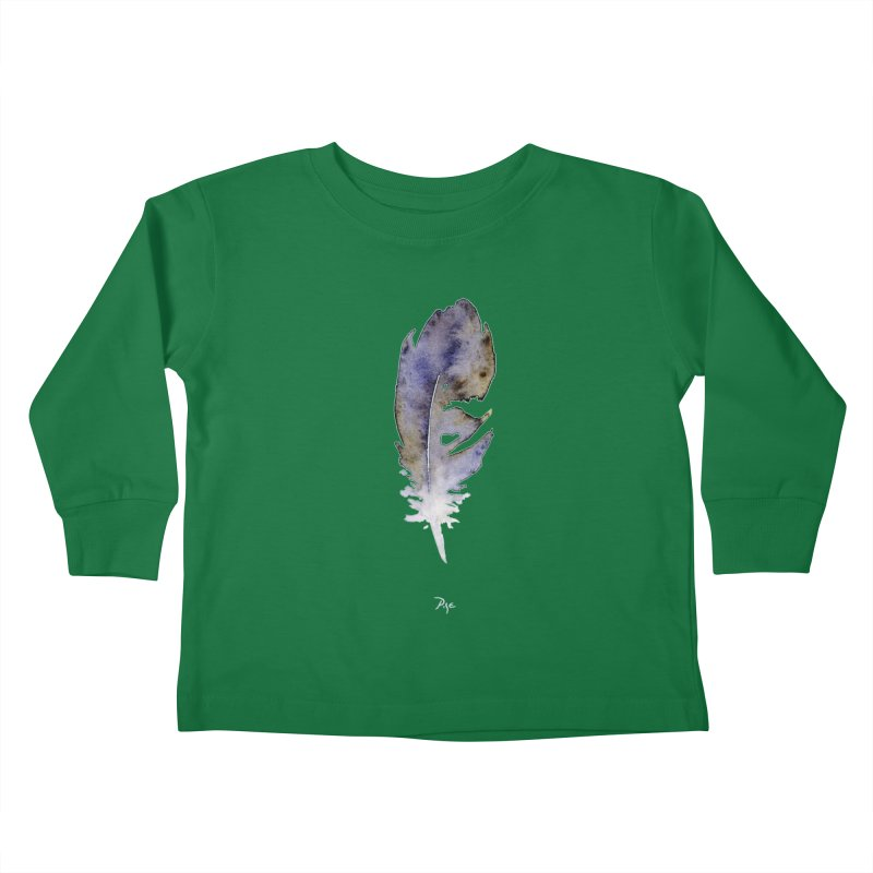 Little Feather by Igor Pose Kids Toddler Longsleeve T-Shirt by IgorPose's Artist Shop
