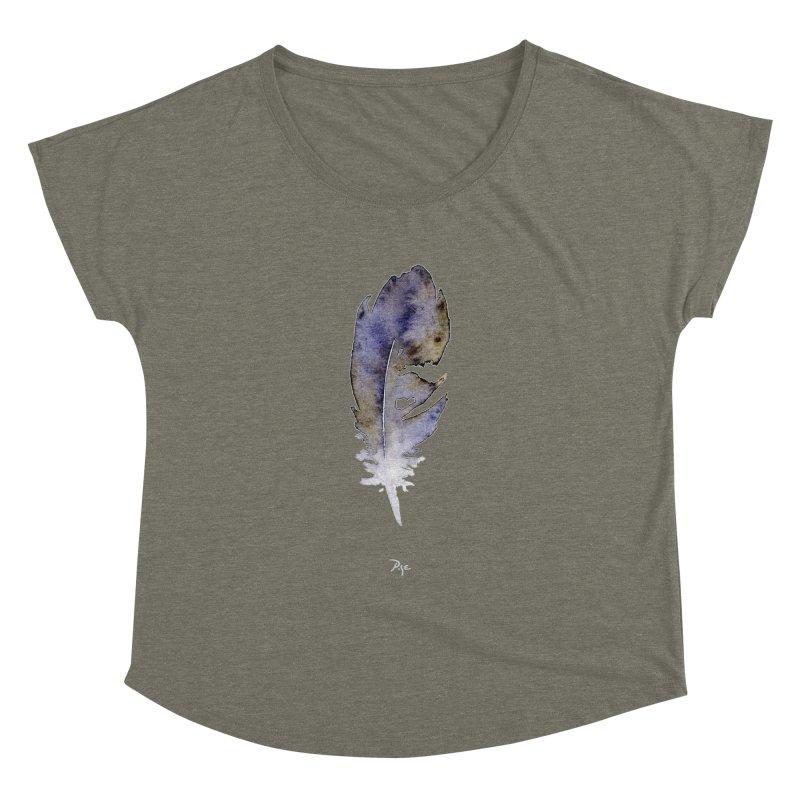 Little Feather by Igor Pose Women's Dolman Scoop Neck by IgorPose's Artist Shop