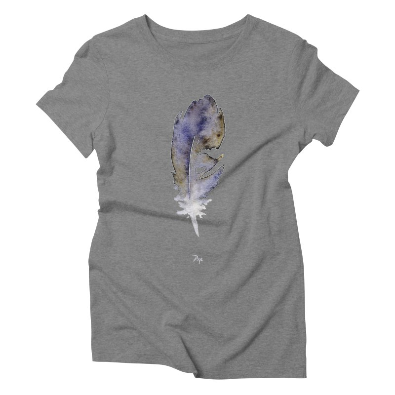Little Feather by Igor Pose Women's Triblend T-Shirt by IgorPose's Artist Shop