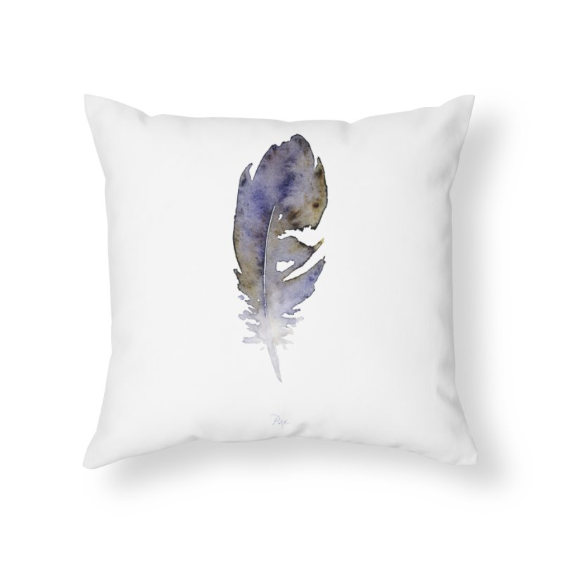 Little Feather by Igor Pose Home Throw Pillow by IgorPose's Artist Shop