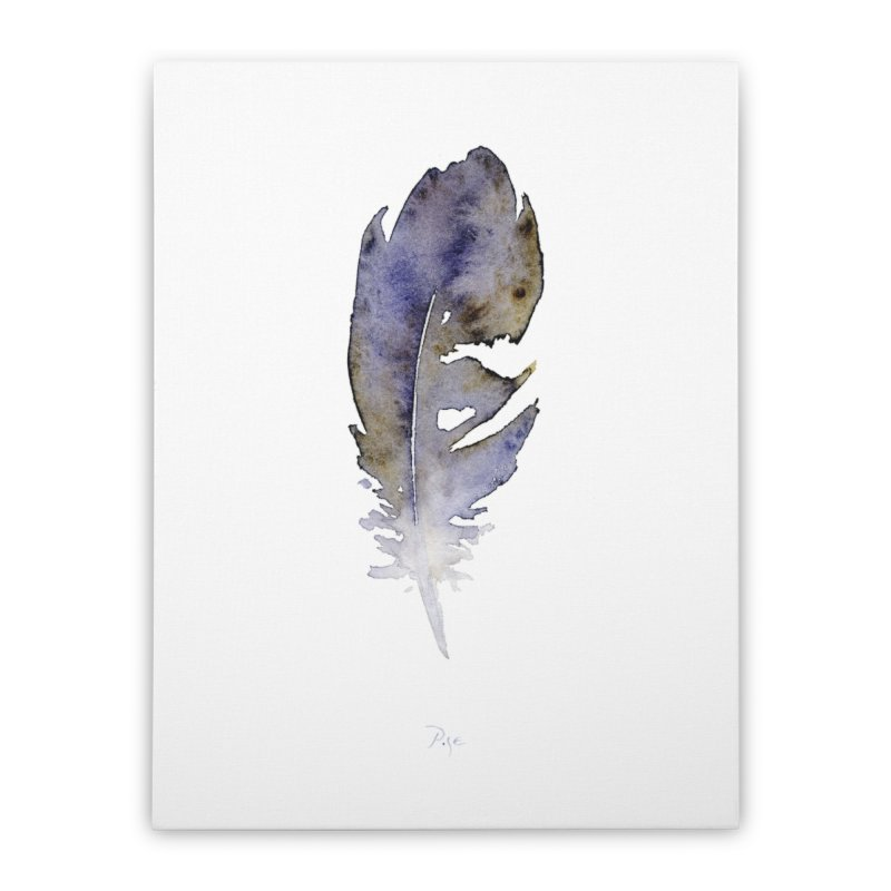Little Feather by Igor Pose Home Stretched Canvas by IgorPose's Artist Shop