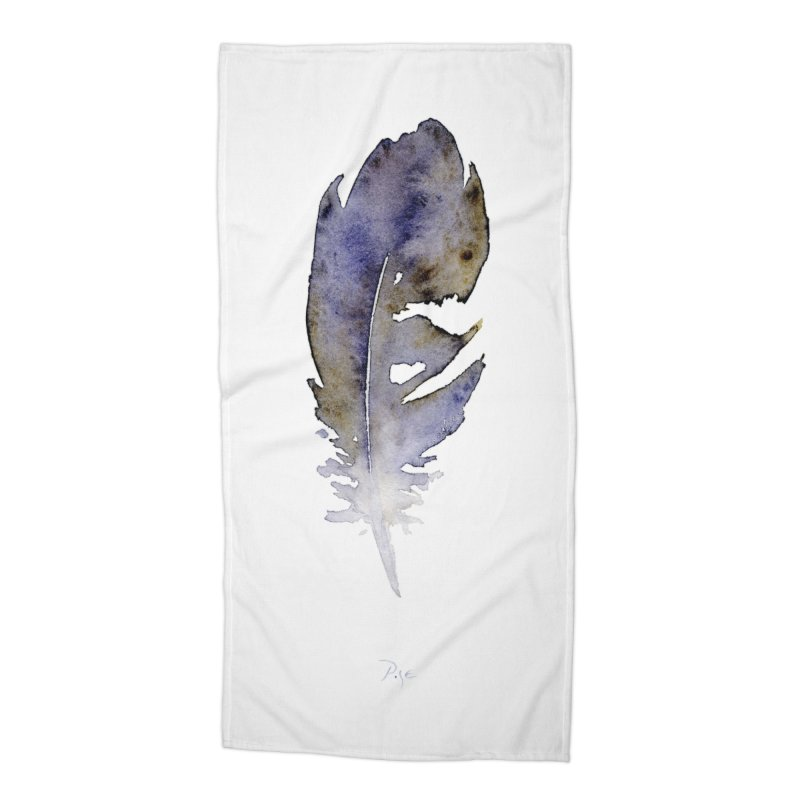Little Feather by Igor Pose Accessories Beach Towel by IgorPose's Artist Shop