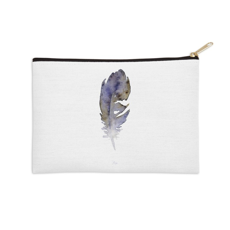 Little Feather by Igor Pose Accessories Zip Pouch by IgorPose's Artist Shop