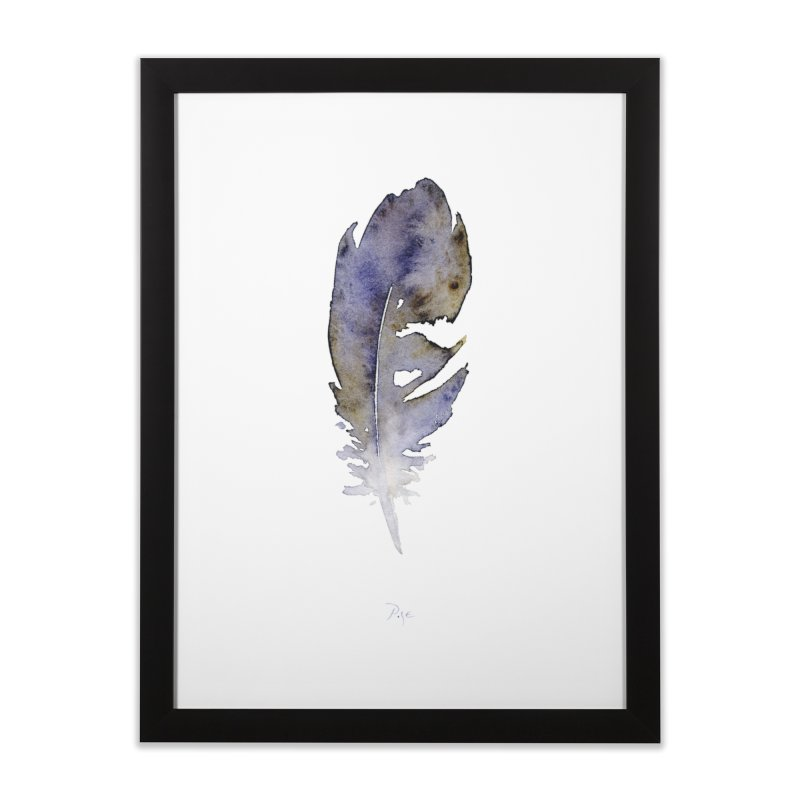 Little Feather by Igor Pose Home Framed Fine Art Print by IgorPose's Artist Shop