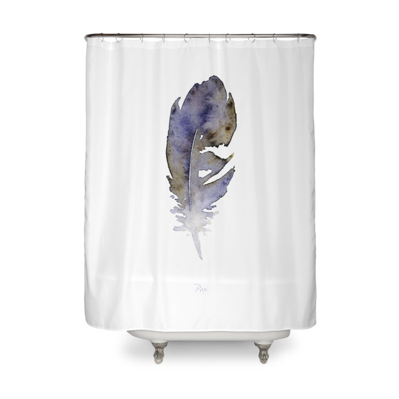 Little Feather by Igor Pose Home Shower Curtain by IgorPose's Artist Shop