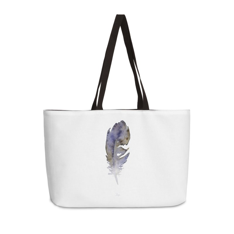 Little Feather by Igor Pose Accessories Weekender Bag Bag by IgorPose's Artist Shop