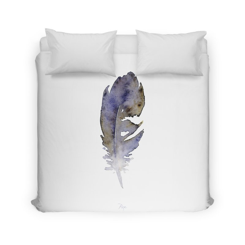 Little Feather by Igor Pose Home Duvet by IgorPose's Artist Shop