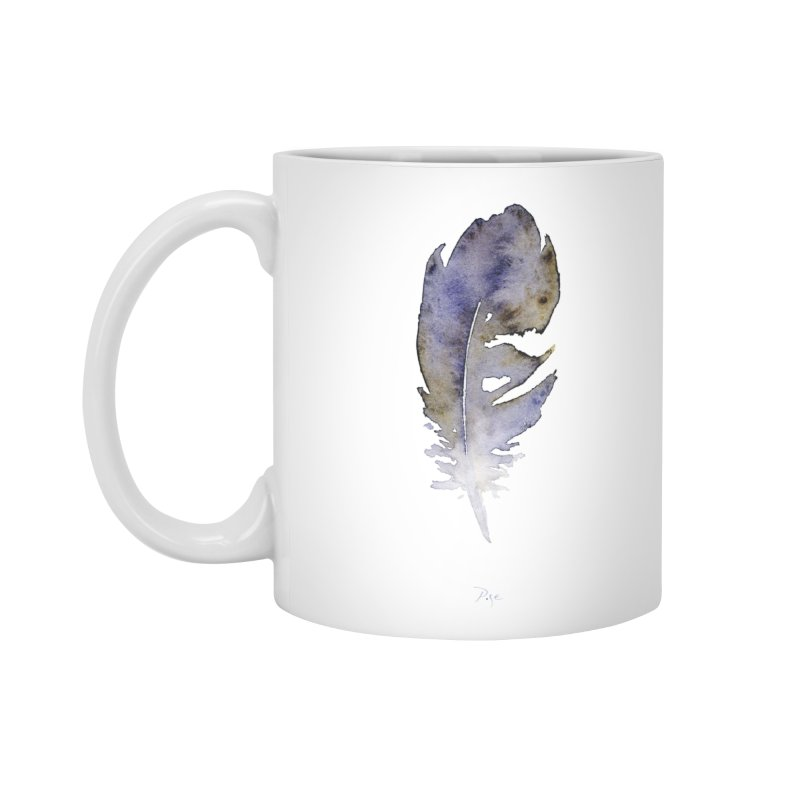 Little Feather by Igor Pose Accessories Standard Mug by IgorPose's Artist Shop