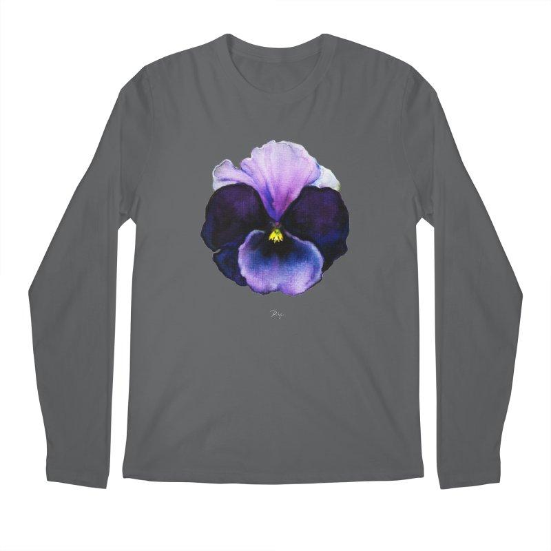 Pensée by Igor Pose Men's Regular Longsleeve T-Shirt by IgorPose's Artist Shop