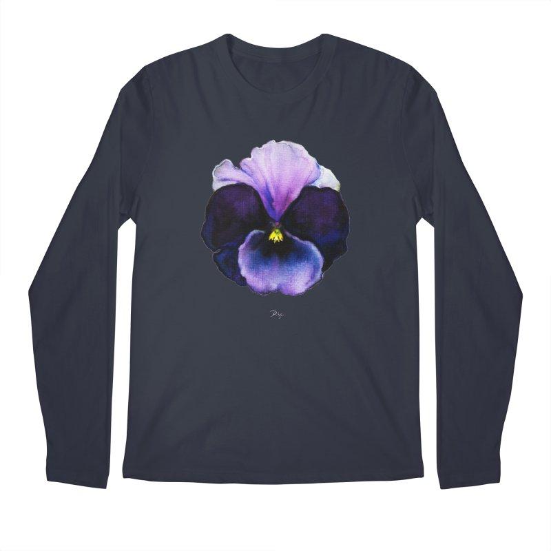 Pensée by Igor Pose Men's Longsleeve T-Shirt by IgorPose's Artist Shop