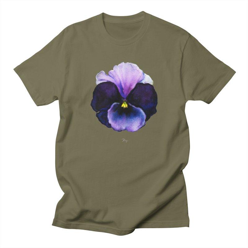 Pensée by Igor Pose Men's T-Shirt by IgorPose's Artist Shop