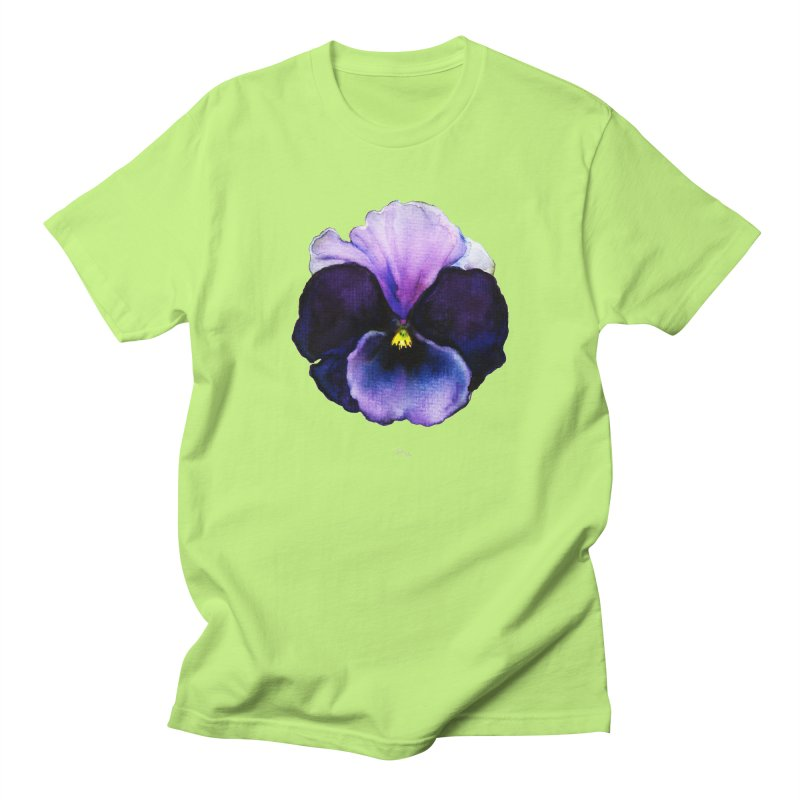 Pensée by Igor Pose Women's Regular Unisex T-Shirt by IgorPose's Artist Shop