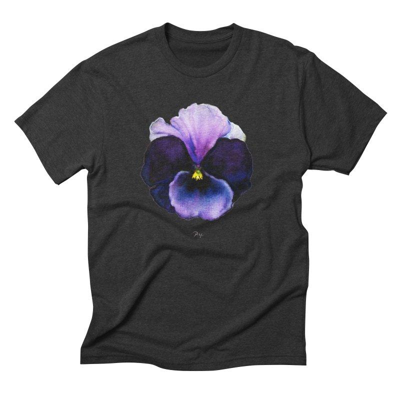 Pensée by Igor Pose Men's Triblend T-Shirt by IgorPose's Artist Shop
