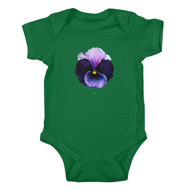 Pensée by Igor Pose Kids Baby Bodysuit by IgorPose's Artist Shop