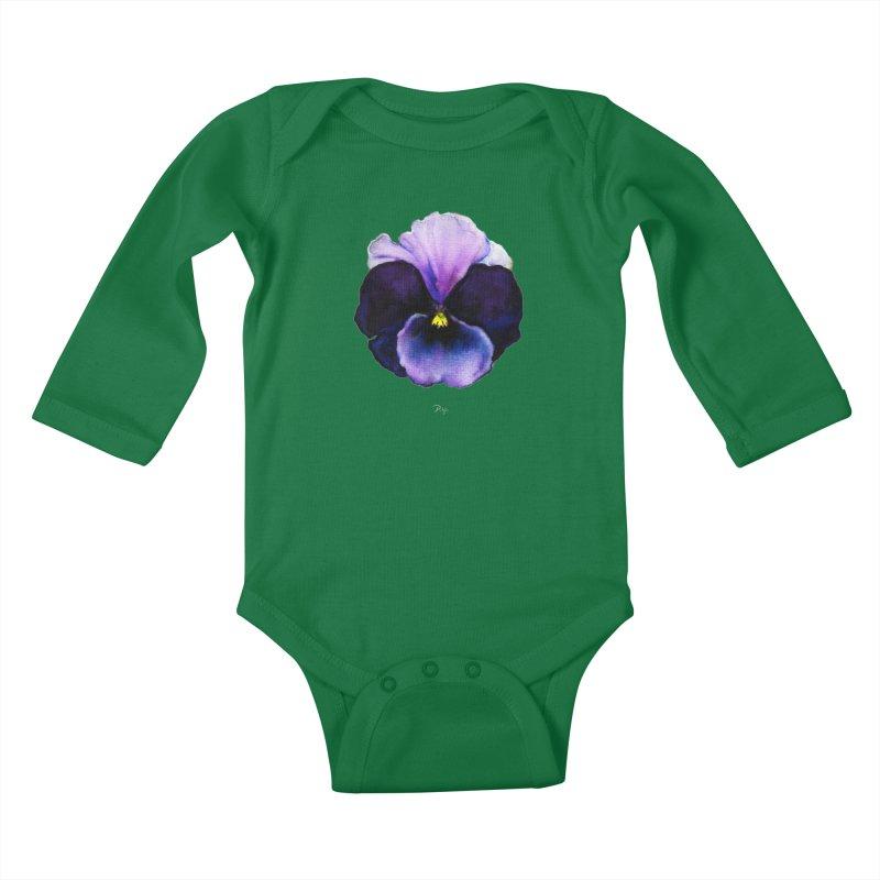 Pensée by Igor Pose Kids Baby Longsleeve Bodysuit by IgorPose's Artist Shop