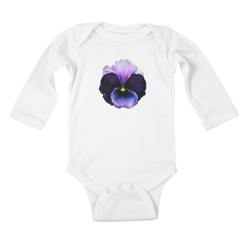 Pensée by Igor Pose Kids Baby Longsleeve Bodysuit by IgorPose's Artist Shop