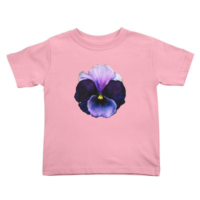Pensée by Igor Pose Kids Toddler T-Shirt by IgorPose's Artist Shop