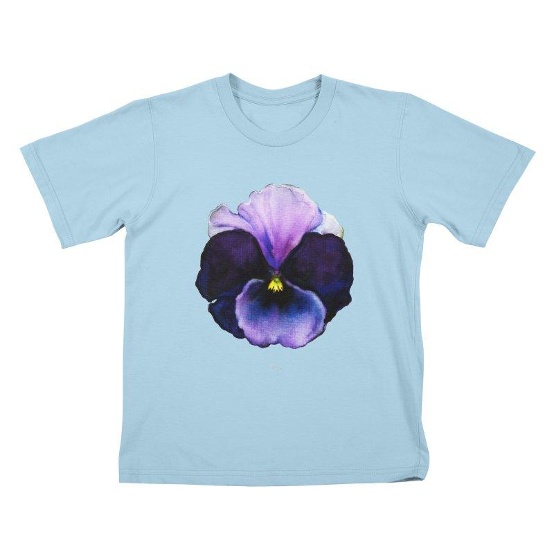 Pensée by Igor Pose Kids T-Shirt by IgorPose's Artist Shop