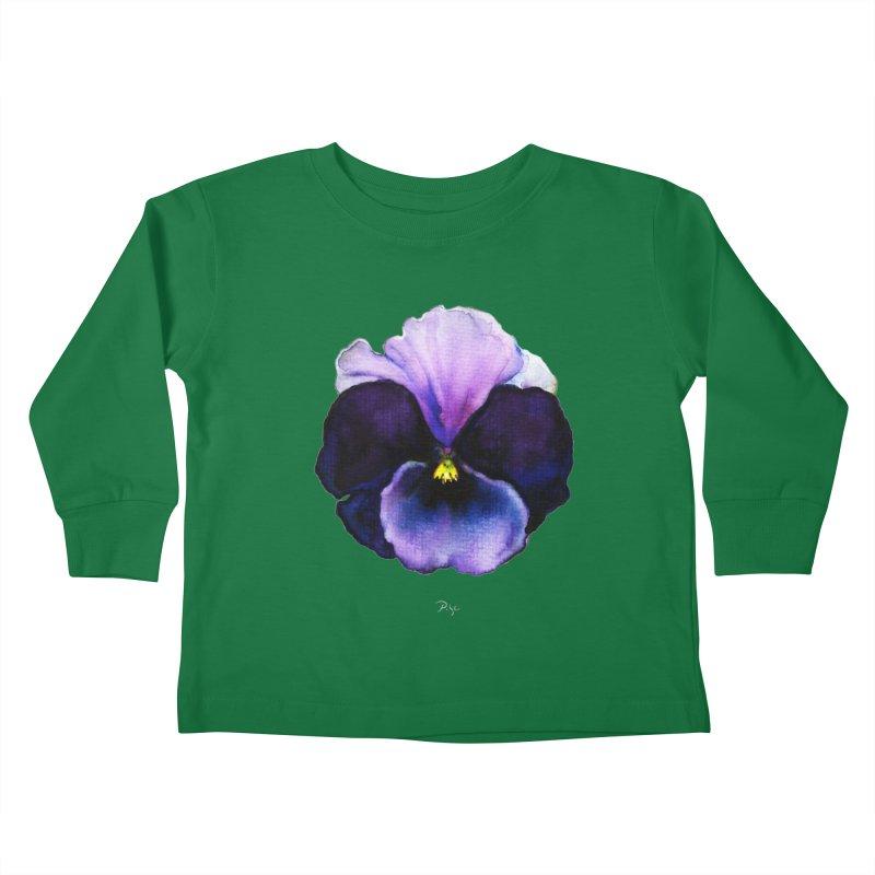 Pensée by Igor Pose Kids Toddler Longsleeve T-Shirt by IgorPose's Artist Shop