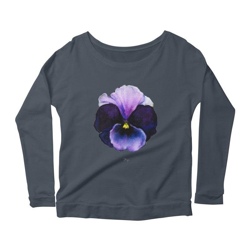 Pensée by Igor Pose Women's Scoop Neck Longsleeve T-Shirt by IgorPose's Artist Shop