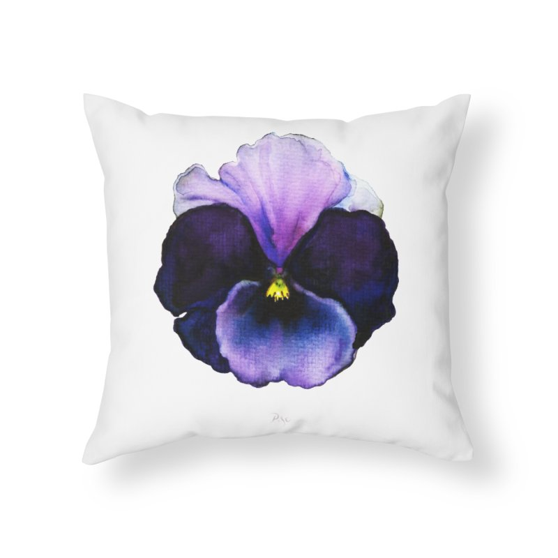 Pensée by Igor Pose Home Throw Pillow by IgorPose's Artist Shop