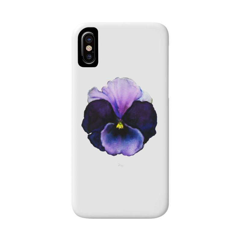 Pensée by Igor Pose Accessories Phone Case by IgorPose's Artist Shop