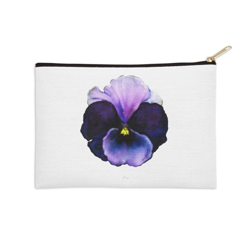 Pensée by Igor Pose Accessories Zip Pouch by IgorPose's Artist Shop