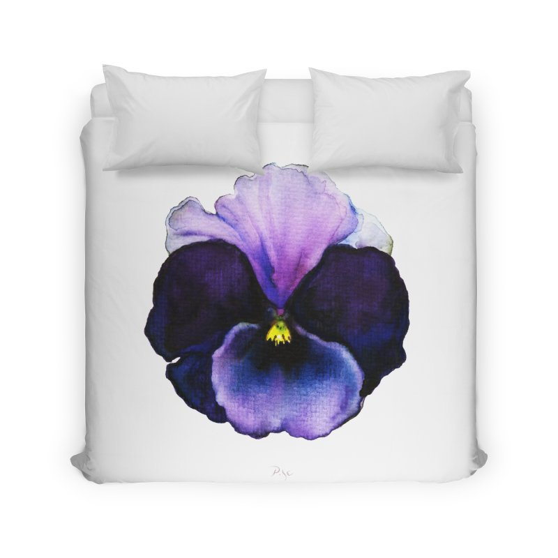 Pensée by Igor Pose Home Duvet by IgorPose's Artist Shop