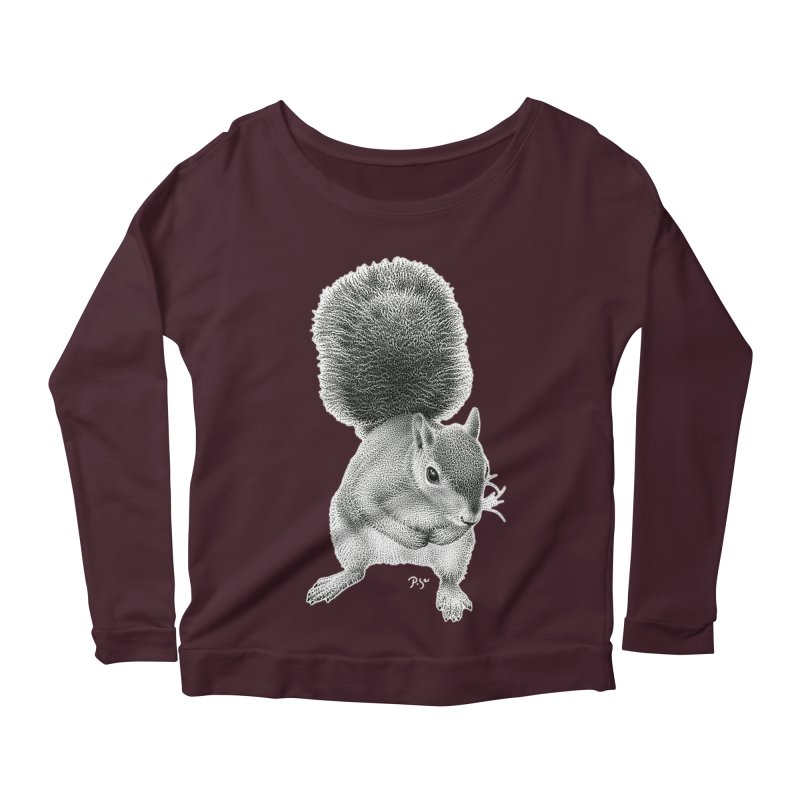 Request by Igor Pose Women's Scoop Neck Longsleeve T-Shirt by IgorPose's Artist Shop
