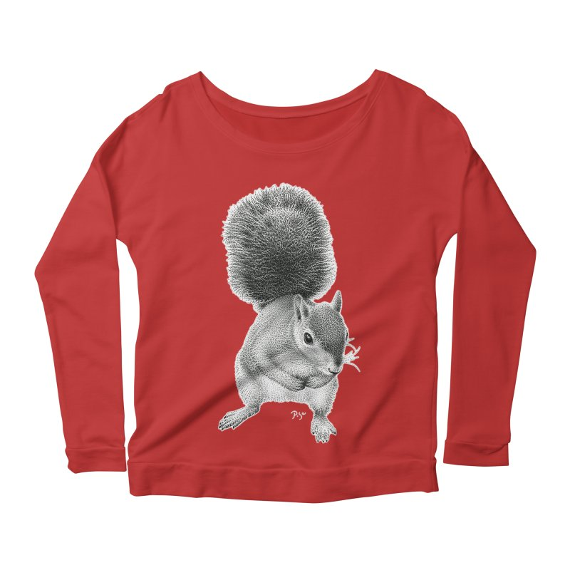 Request by Igor Pose Women's Scoop Neck Longsleeve T-Shirt by IgorPose's Artist Shop