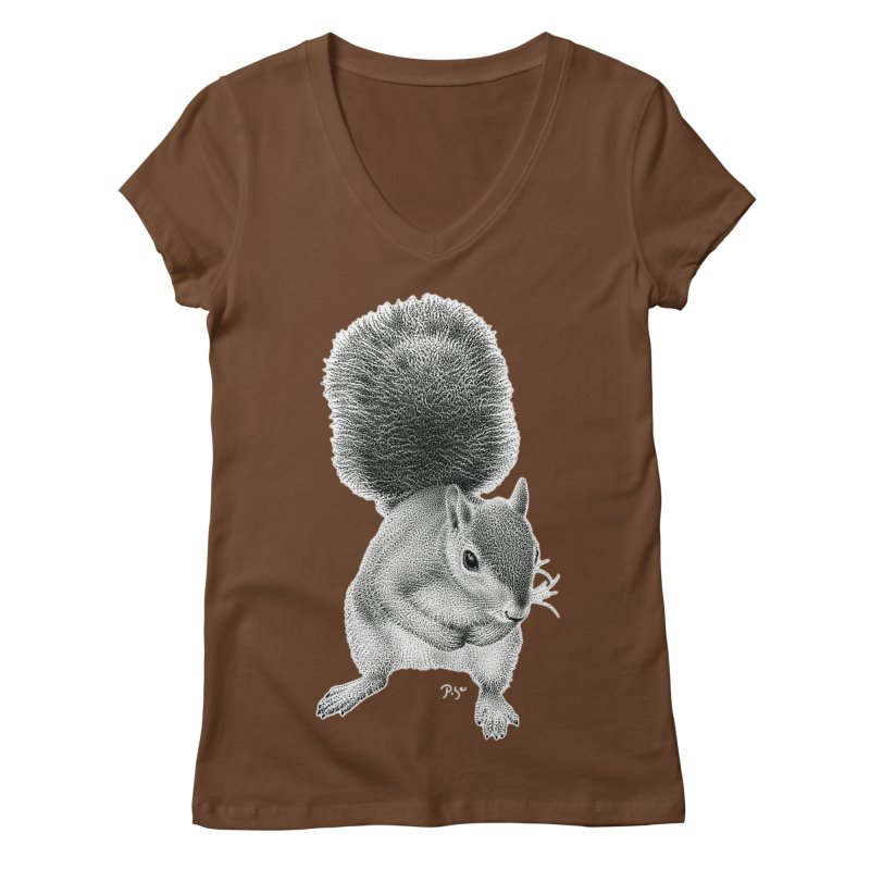 Request by Igor Pose Women's Regular V-Neck by IgorPose's Artist Shop