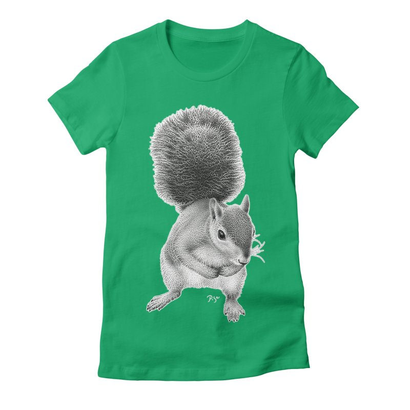Request by Igor Pose Women's Fitted T-Shirt by IgorPose's Artist Shop