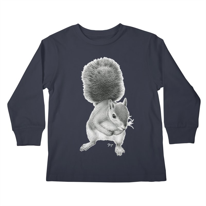 Request by Igor Pose Kids Longsleeve T-Shirt by IgorPose's Artist Shop
